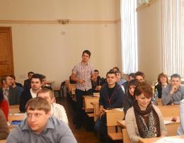 Геореконструкция: семинар по геотехнике в ПГУПС 09.04.2013