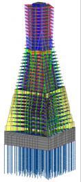 высотные здания, рассчеты