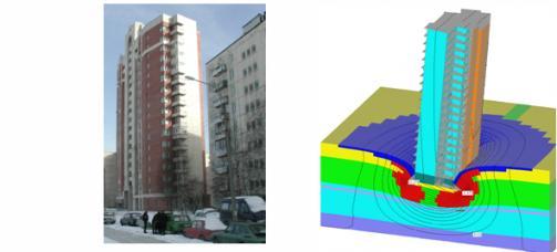 реконструкция, укрепление фундаментов, жилые дома